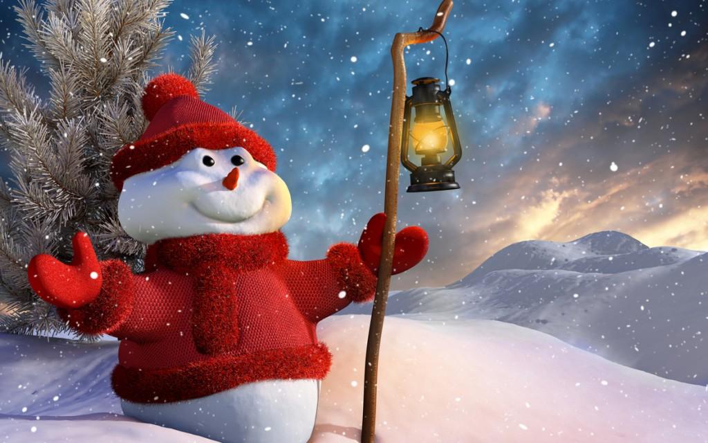 Приключения снеговика Пузырика